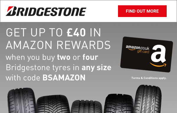 Bridgestone Amazon Vouchers